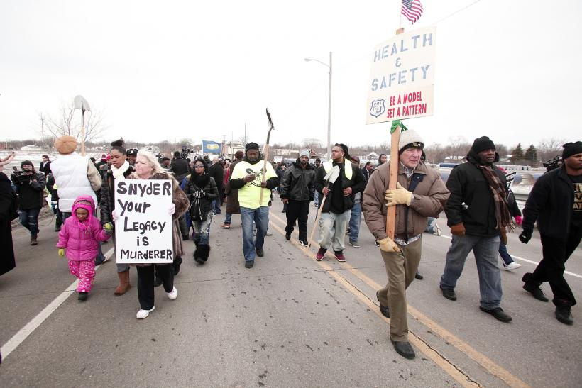 Flint Water crisis lead contamination