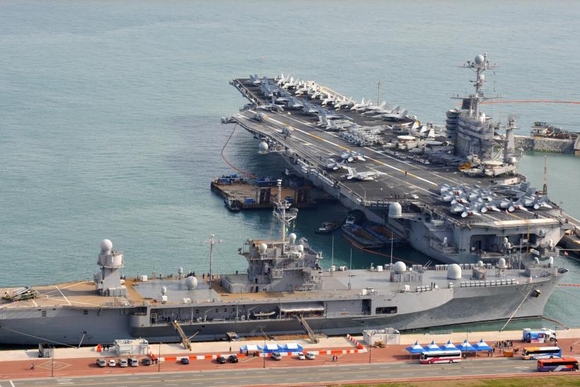 US aircraft carrier patrols South China Sea as Beijing keeps watch