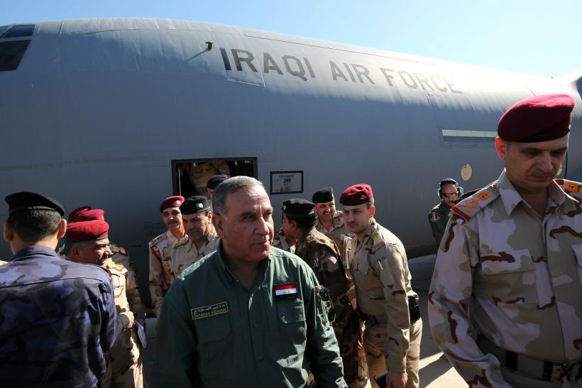 Iraqi Defense Minister Khaled al-Obeidi, March 9, 2016