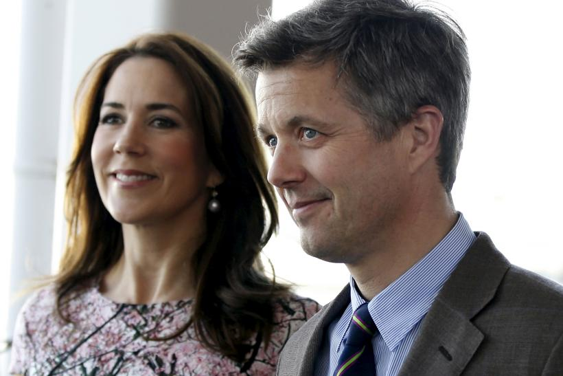 Denmark's Crown Prince Frederik and his wife Crown Princess Mary