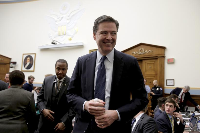 FBI Director James Comey at encryption hearing