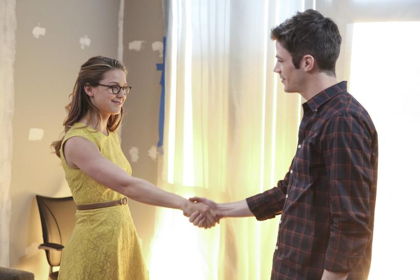 The Flash/Supergirl
