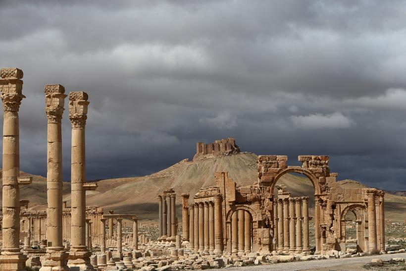 Ancient Syrian city of Palmyra