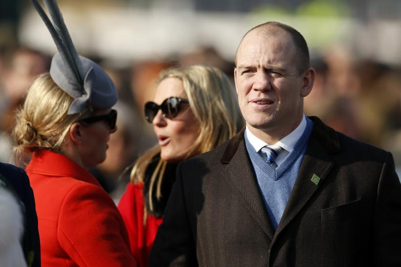 Mike Tindall and his wife Zara Phillips