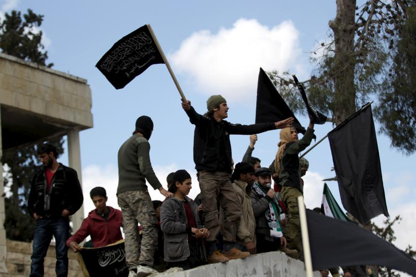 Nusra Front protesters