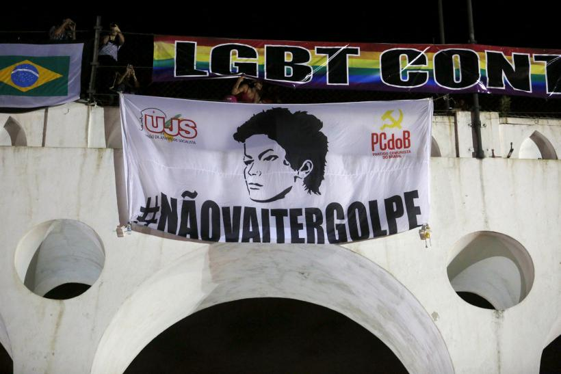 Dilma Rousseff banner