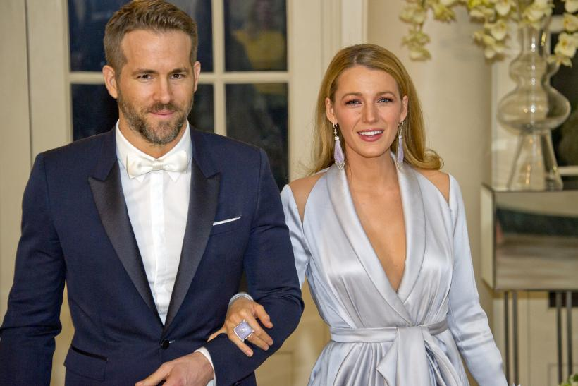 Blake Lively with husband