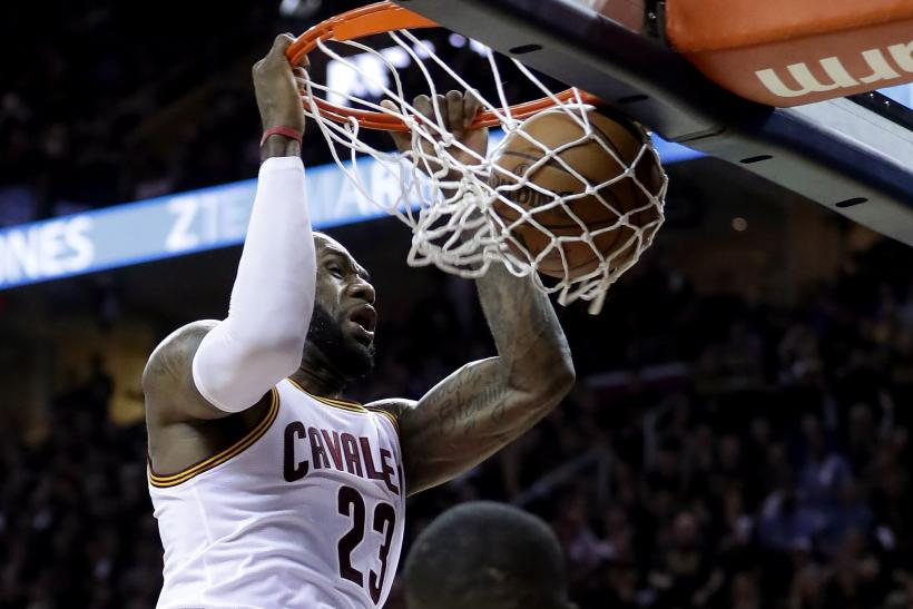 LeBron James Cavs 2016