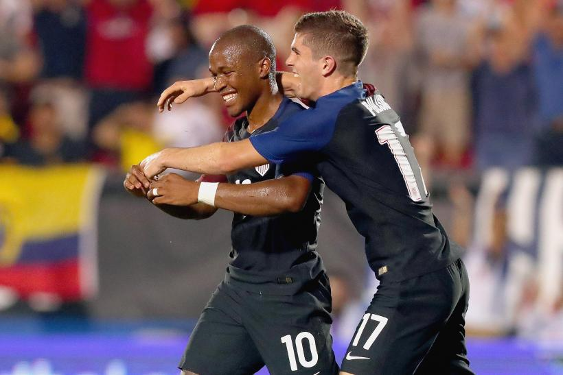 Darlington Nagbe, Christian Pulisic
