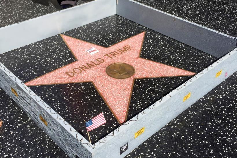 Wall for Trump star