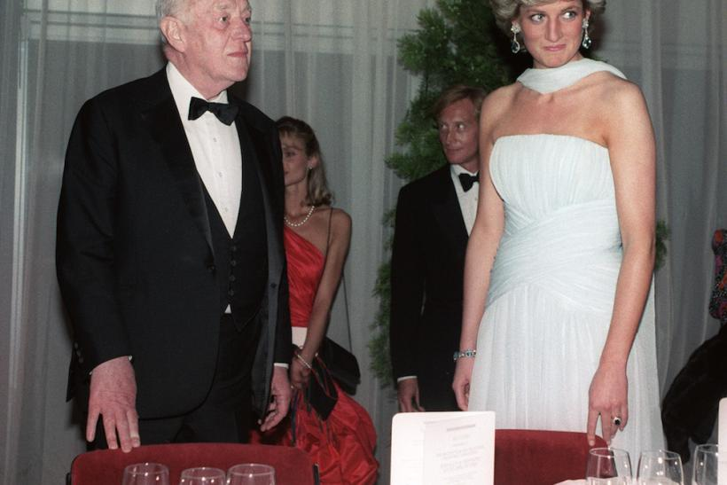 Diana In Catherine Walker At Cannes