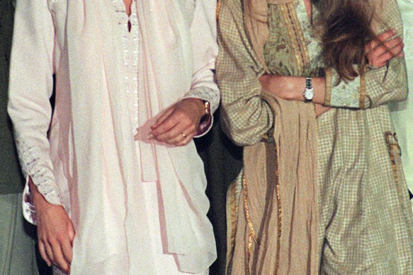 BFFs: Diana And Jemima Khan, Pakistan 1996