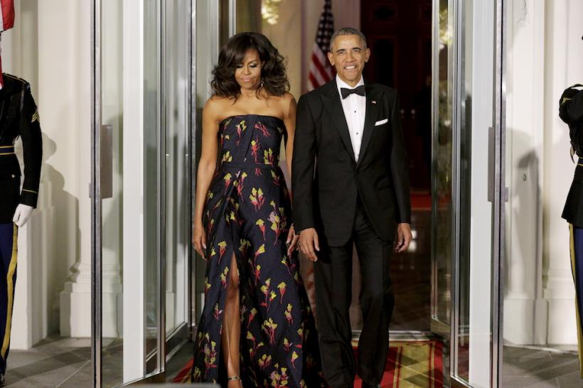 Canadian State Dinner Wearing Jason Wu