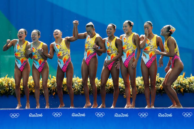 Synchronized Swimming Is Everything