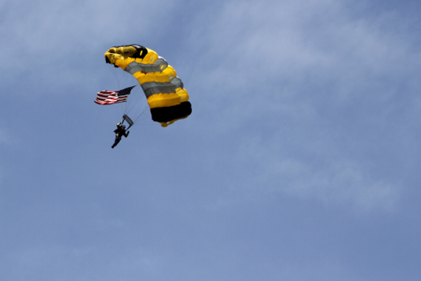 An unidentified veteran skydiver dies during 96th jump in Ohio.