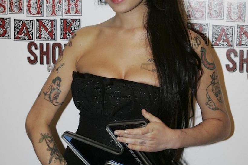 Amy Winehouse At The South Bank Show Awards, 2007