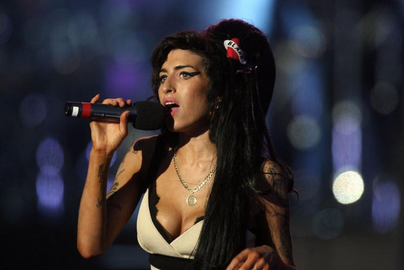 Amy Winehouse Performs In Hyde Park, 2008
