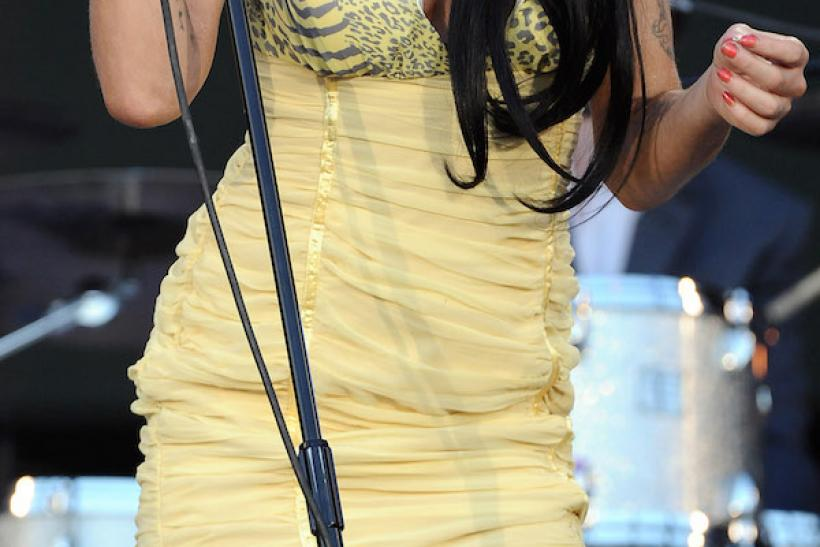 Amy Winehouse At Rock in Rio, 2008