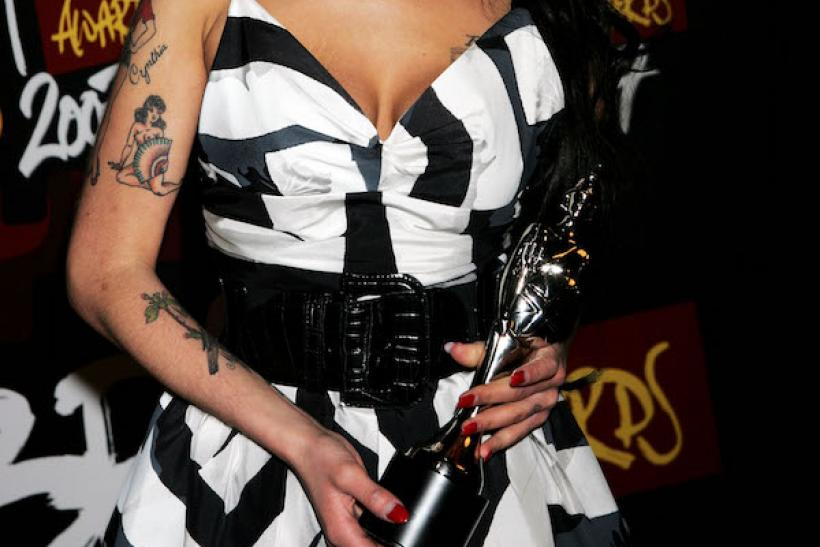 Amy Winehouse At The BRIT Awards, 2007