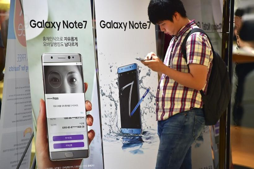 Galaxy Note 7 user