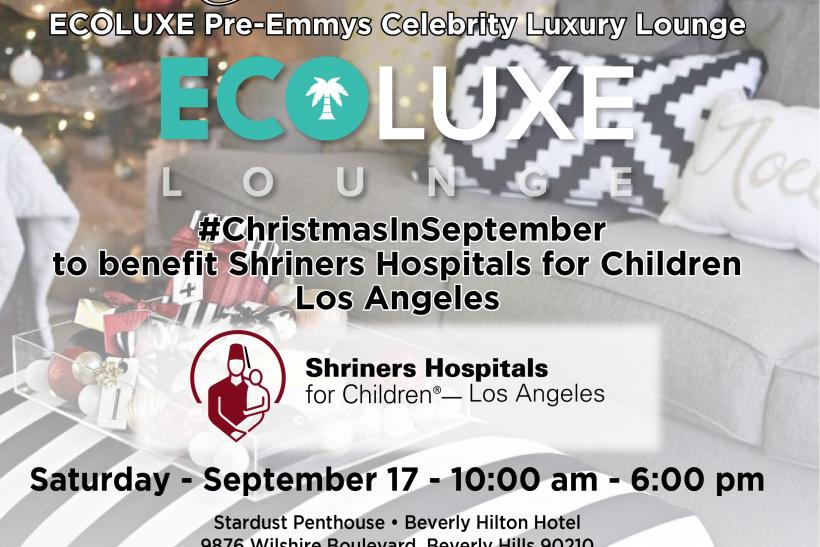 Emmy Awards Ultimate Event Guide: Pre-Emmys EcoLuxe Celebrity Luxury Lounge