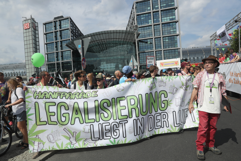 Cannabis sales are on the rise in Germany.