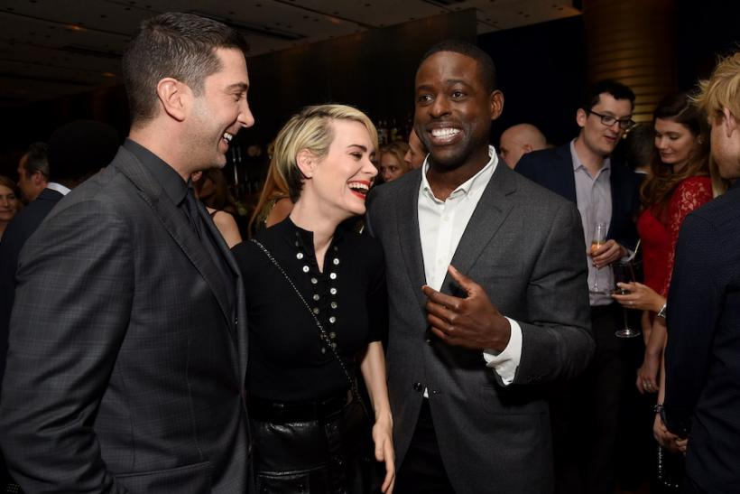David Schwimmer, Sarah Paulson And Sterling K. Brown