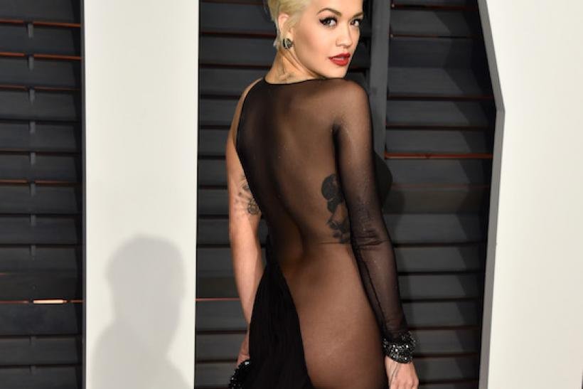 Rita Ora At The 2015 Vanity Fair Oscar Party 2015