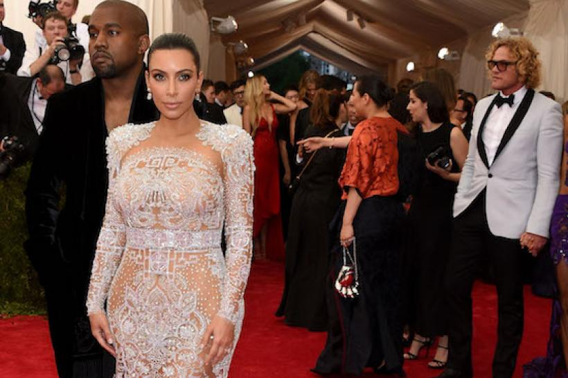 Kim Kardashian At The Met Gala 2015