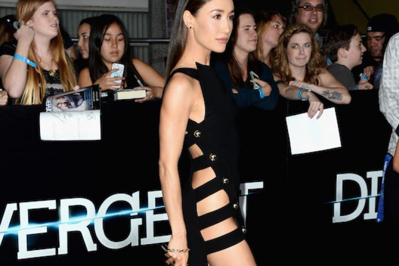Maggie Q At The Premiere Of 'Divergent' 2014