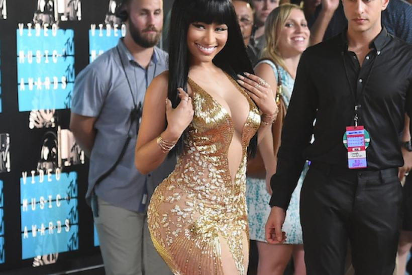 Nicki Minaj attends the 2015 MTV Video Music Awards