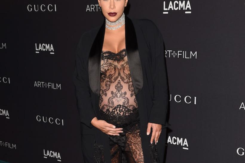 Kim Kardashian At The LACMA 2015 Art+Film Gala