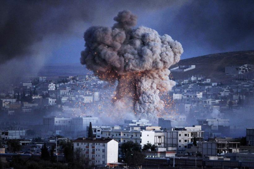 Syria ceasefire Turkey air strikes
