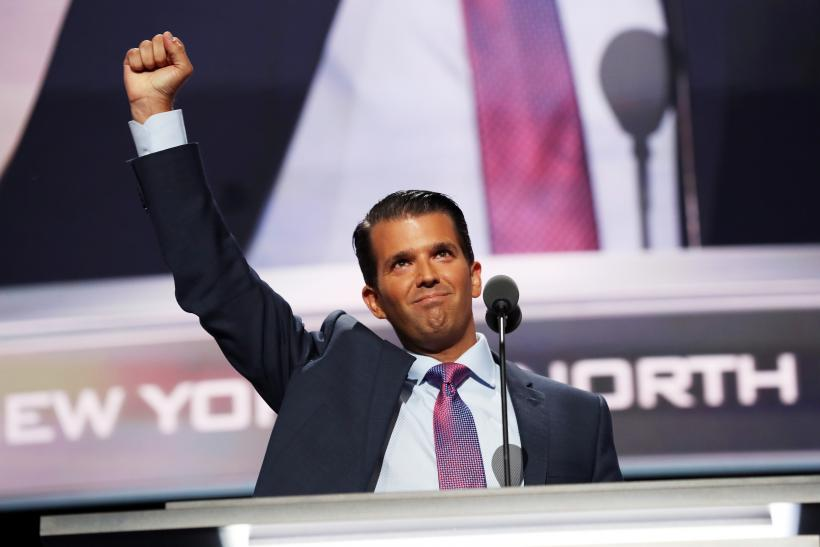 donald trump jr compares syrian refugees to skittles