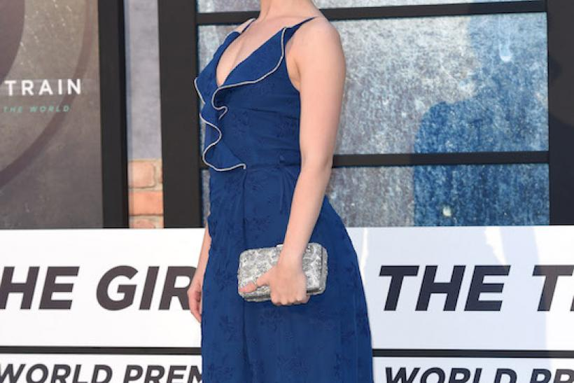 The Girl On The Train Premiere - Joanne Clifton