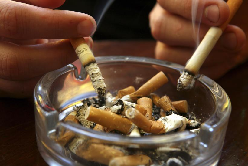 smoking permanently affects your dna