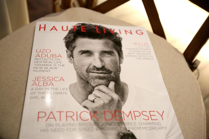 Haute Living Cover Launch With Patrick Dempsey And Tag Heuer