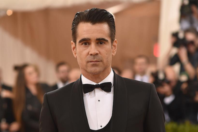#4 Colin Farrell: Unlikely As The Irish Actor Is Taken, Maybe #5? Click To the Next Slide To See Who It Is ...