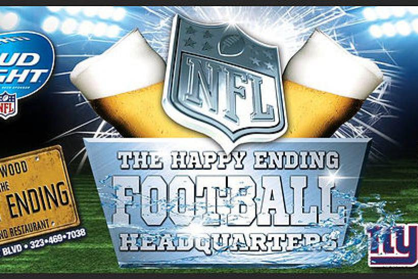 New York Giants Fans - The Happy Ending Bar & Restaurant Is Calling You