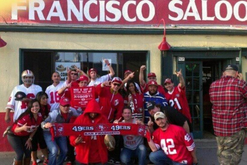 San Francisco Saloon Is for All You he 49ers Fans