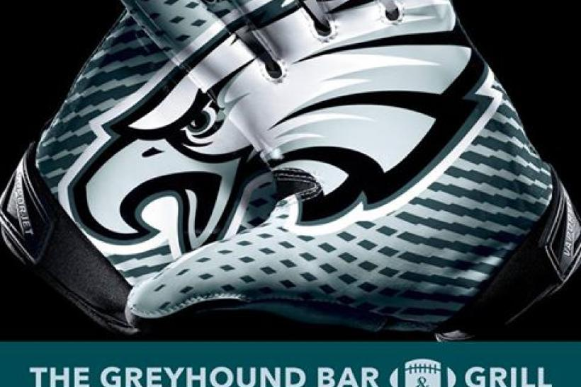 The Greyhound Bar & Grill Is The L.A. Home Of The Philadelphia Eagles