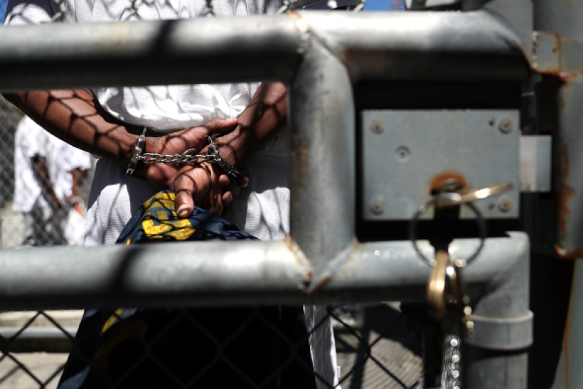 Statistics show black males are more likely to be incarcerated than white males.