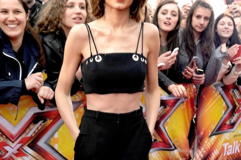 Cheryl Cole - The Grommet Trimmed Bralette
