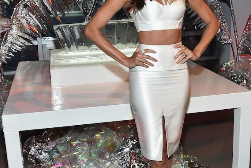 Joan Smalls - The Bralette With Cut-Outs