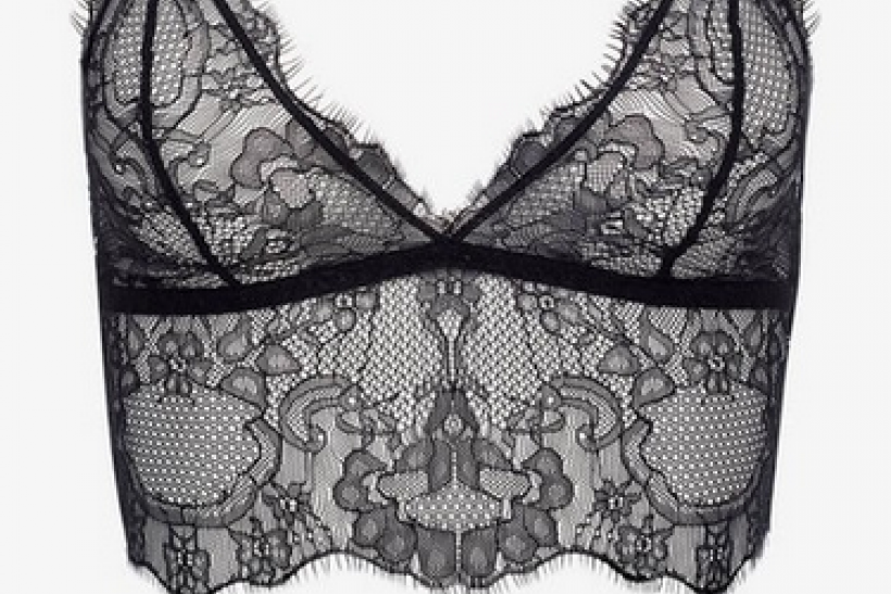 The Lace Long Line Bra