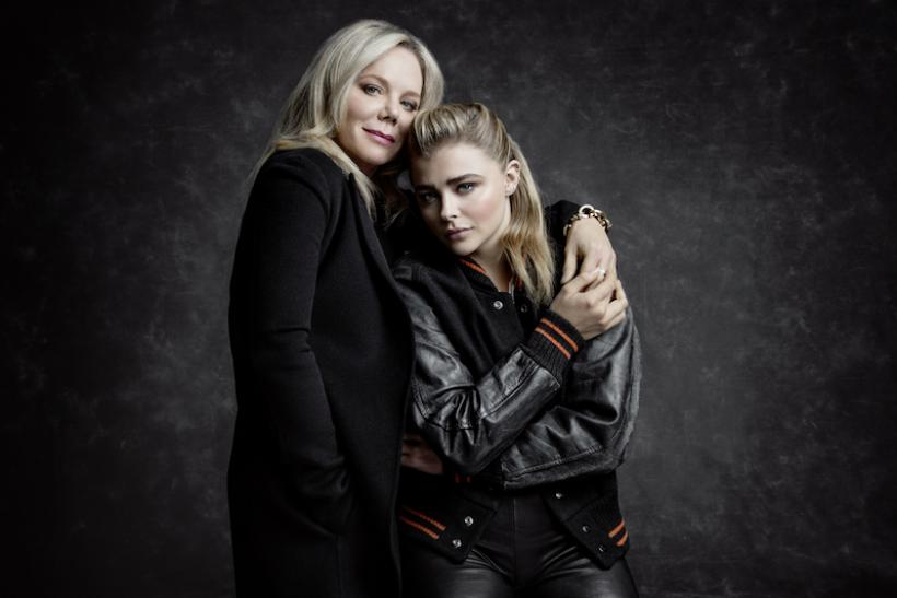 Chloe Grace Moretz And Her Mother