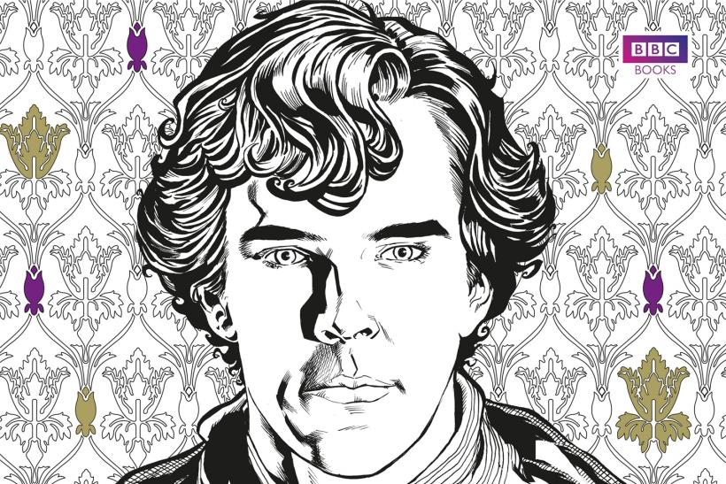 Sherlock: The Mind Palace: A Coloring Book