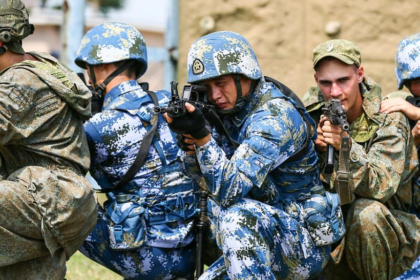 War Games Russia And China Join Forces Against Global Us