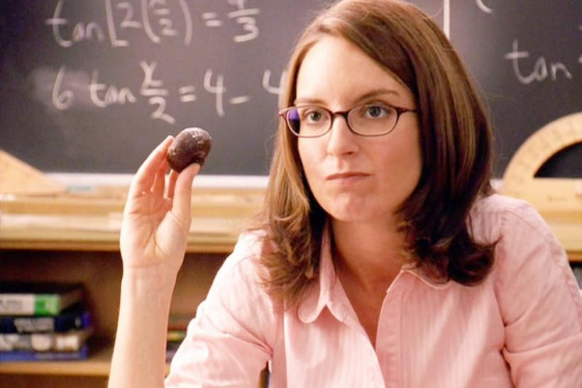 The Math Teacher, Ms. Norbury, Played By Tina Fey
