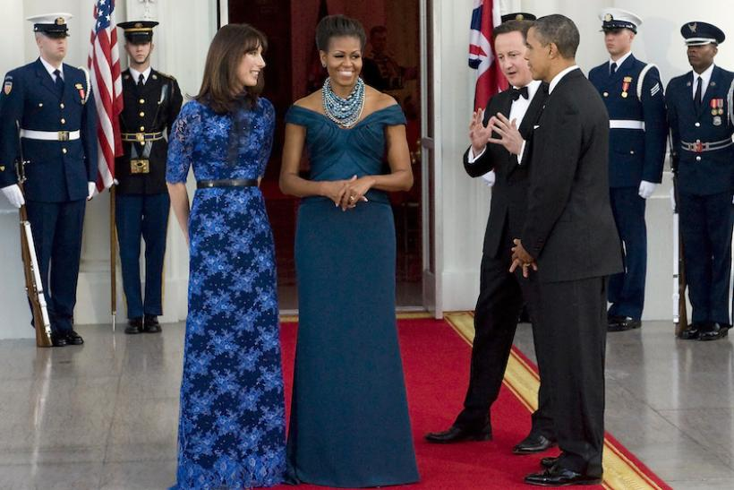 A State Dinner Honoring The British Prime Minister In Marchesa